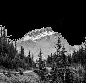 Mountain_bw